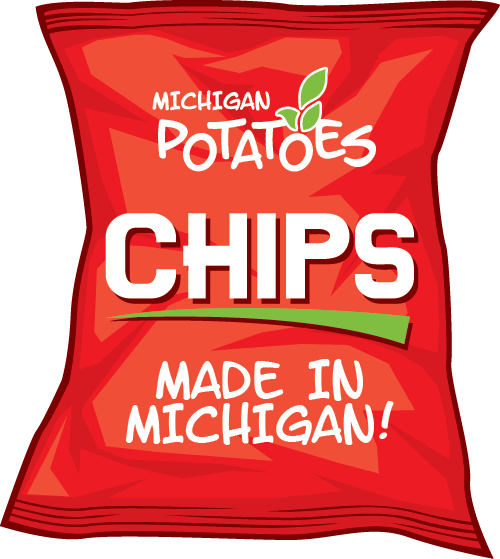 Bad of Michigan potato chips