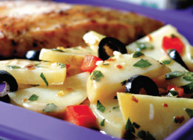 Dijon Potato Salad With Olives
