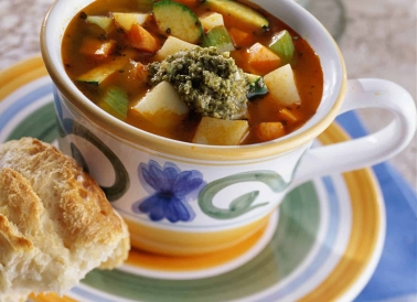 Italian Veggie Potato Soup