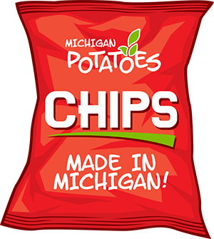 Michigan Potato Chip Bag